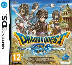 Dragon Quest IX - Les sentinelles du firmament - Jaquette