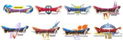 Dragon Quest mobile - logos
