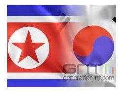 Drapeaux nationaux coree sud coree nord small