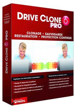 drive clone 6 pro boite DC6PRO HI redimensionner