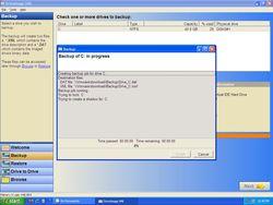 DriveImage XML screen2