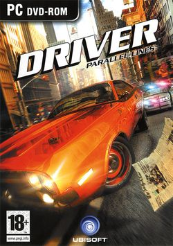 Driver parallel lines packshot