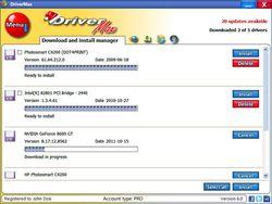DriverMax screen 1