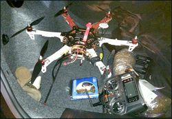 drone contrebande