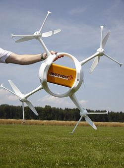 drone poste suisse