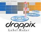 Droppix Label Maker Deluxe : éditer et imprimer des étiquettes pour CD ou DVD