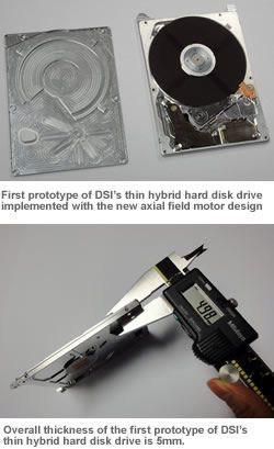 DSI disque dur SSD