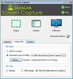 DuckLink screen2.