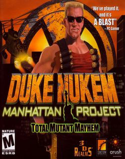 Duke Nukem The Manhattan Project - Jaquette