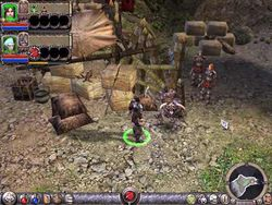 Dungeon Siege II patch screen 2