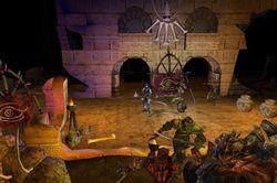 Dungeon Siege II screen