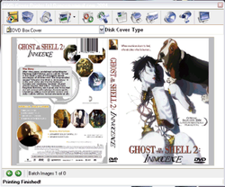 DVD Cover Printer screen2