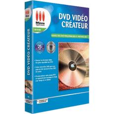 DVD Vidéo Créateur boite