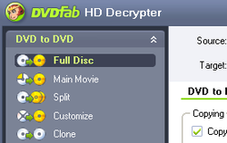 DVDFab HD Decrypter screen2