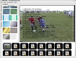 DVDStyler Portable screen2