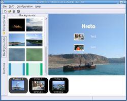 DVDStyler screen1Portable