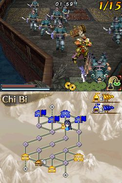 Dynasty warriors ds image 1