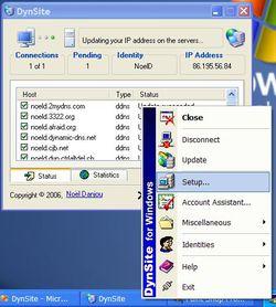 DynSite screen1