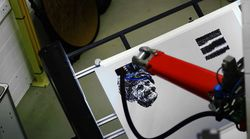 e-david robot peintre