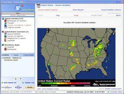 Earth Alerts screen1