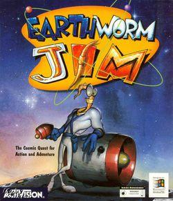 Earthworm Jim, boîte