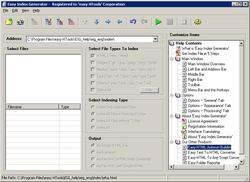 Easy Index Generator screen2