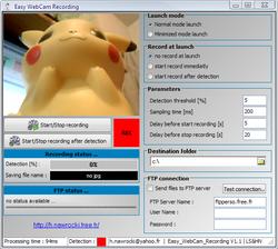 Easy Webcam Recording screen2