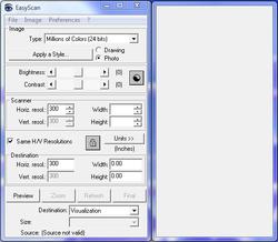 Easyscan screen1