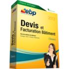 EBP Devis et Facturation Bâtiment Classic 2012 + Services VIP : un éditeur de factures et de devis
