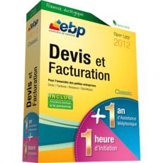 EBP Devis et Facturation Classic 2012 boite