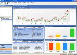 EBP Gestion de Contacts Pratic Open Line 2011 screen