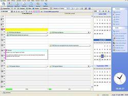 EBP Mon Agenda Perso 2011 screen