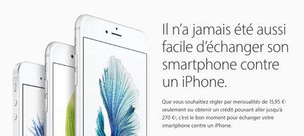 échange Apple