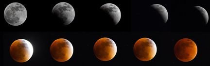 éclipse lune sanglante
