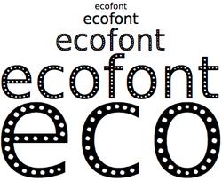 ecofont screen1