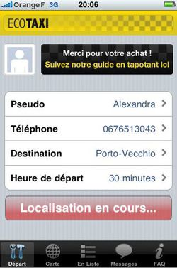 EcoTaxi iPhone 01
