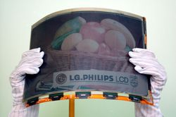 Ecran flexible lg philips