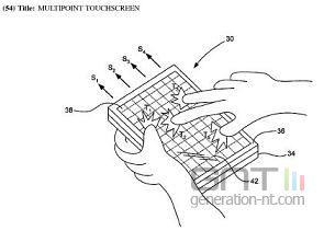 Ecran tactile apple