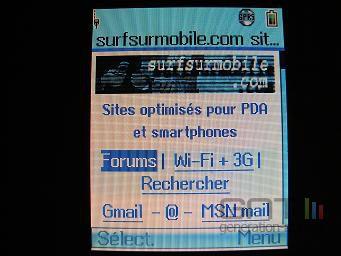 Ecran Toshiba TS608