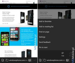 Edge Windows 10 mobile 2