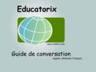 Educatorix Guide de conversation : créer des fiches pour progresser en langue étrangère
