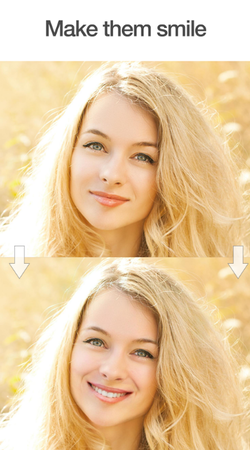 Effet Smile FaceApp