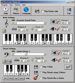 Electronic Piano screen2