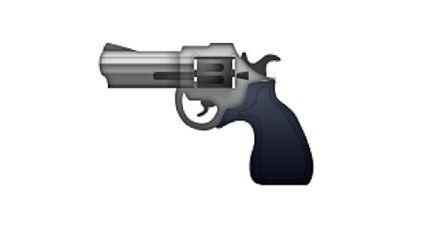 emoji pistolet