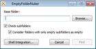 Empty Folder Nuker : détecter les dossiers vides d'un ordinateur