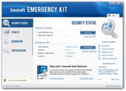 Emsisoft Emergency Kit screen2