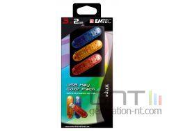 Emtec c150 coffret pack face 3x2 small