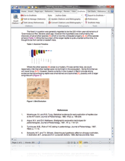 EndNotes screen2