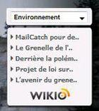 Gadget Environnement