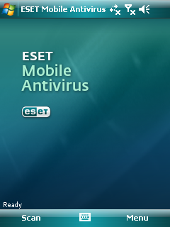ESET Mobile Security screen 1